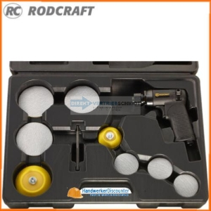 Rodcraft RC7682K, Mini Exzenterschleifer Set